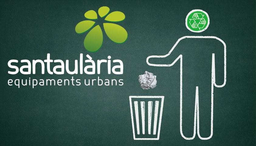 Papeleras urbanas para el medio ambiente