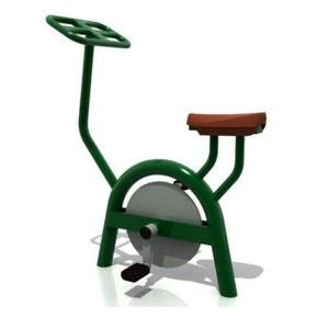 bicicleta biosaludable estàtica parc infantil