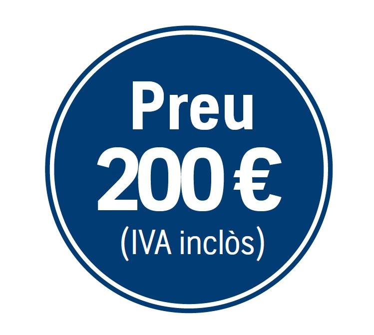 Precio 200€ iva incluido
