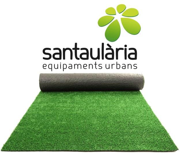 Césped artificial Santaulària Equipaments Urbans