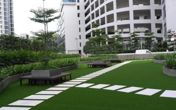 Césped artificial Zonas verdes