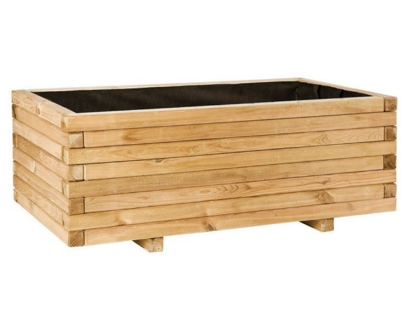 Jardinera rectangular