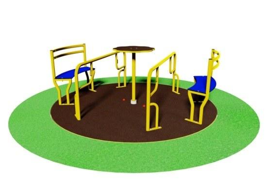 Girador para niños con movilidad reducida