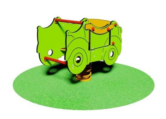 Juego de muelle para niños con movilidad reducida