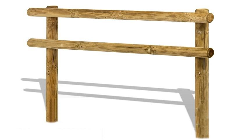 Tanca pal rodo de fusta