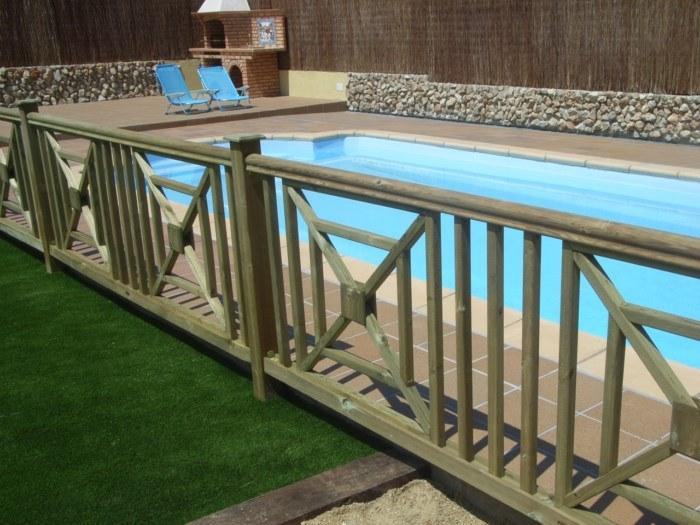 Valla creu de St. Andreu para piscinas